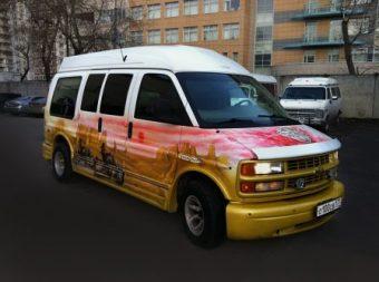 Клубный автобус Шевроле байкер на 11 человек
