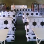 Интерьер клубного автобуса Даблдэккер