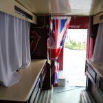 Интерьер клубного автобуса для вечеринок