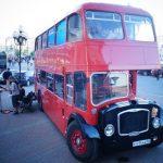 Диско-автобус Даблдэккер из фюзеляжей самолетов, с двигателями от торпедных катеров