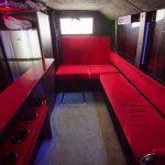 Комфортная обстановка: интерьер в красном цвете