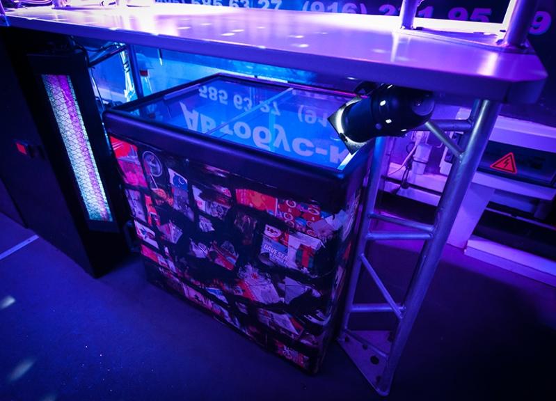 Оборудование для вечеринки на найтбасе